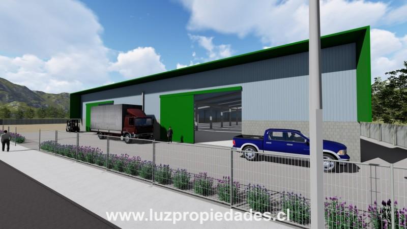Bodega Lote 21 y 22, Centro Empresarial Husamontt - Luz Propiedades
