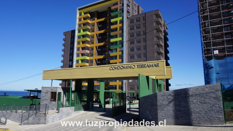 Puerto Montt Nº1641, Condominio Terramar, Dept 508- TS - Luz Propiedades