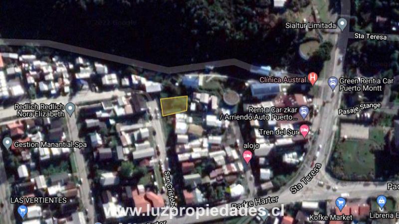 San Cristóbal Nº692, Lote 45, Población Varela - Luz Propiedades